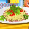 Spaghetti z ostrym sosem
