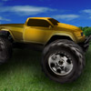 Farmerski wyścig monster trucków