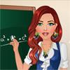 Nauczycielka - szybki makijaż